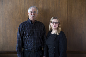 Doug Anton and Carole Anton